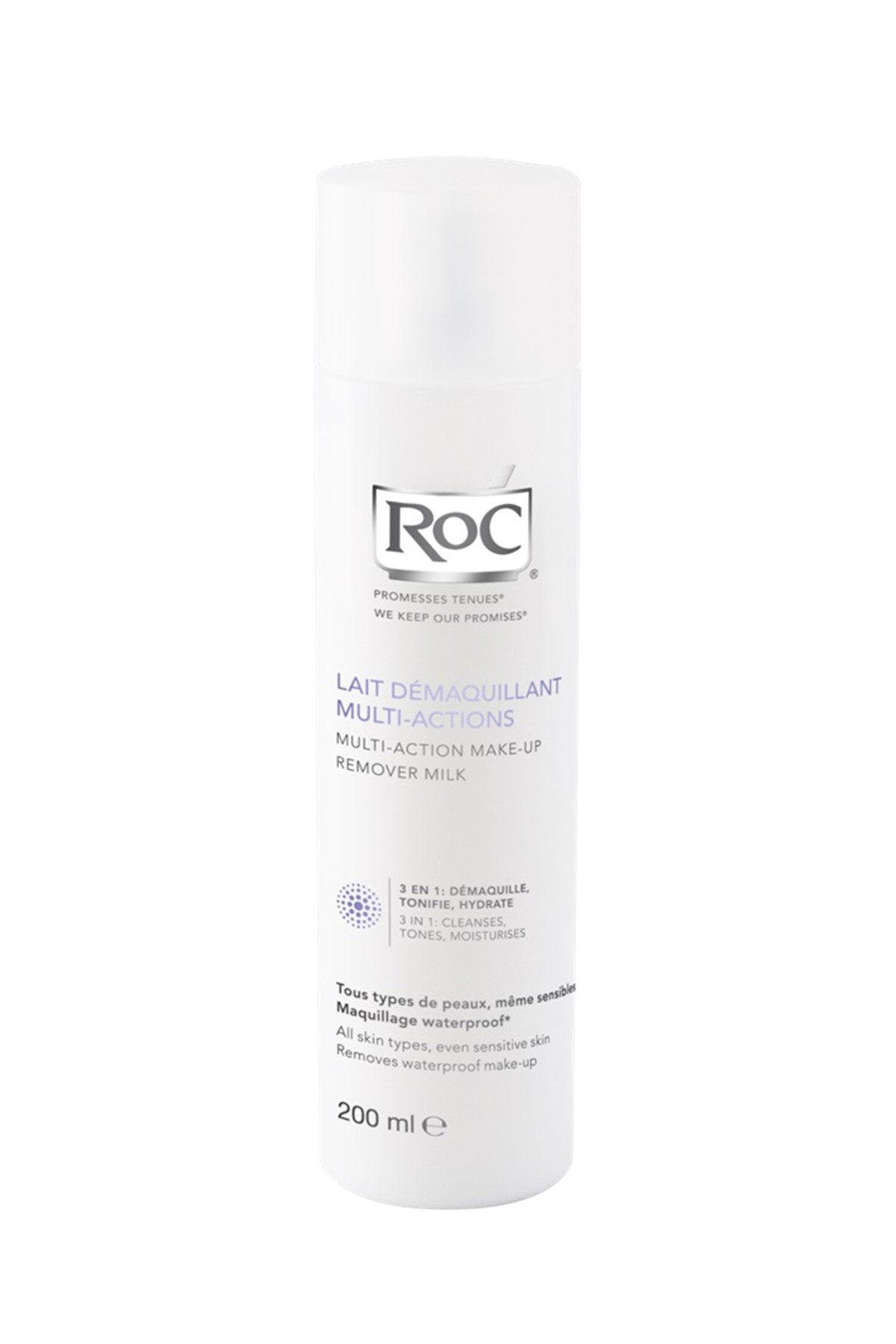 ROC Multi-Action Make-Up Remover Milk (All Skin Types) 200ml