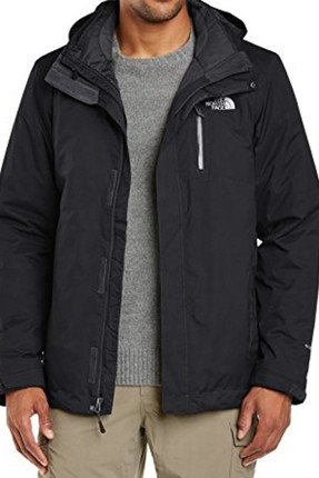 Erkek The North Face M Solaris Triclimate Siyah Mont