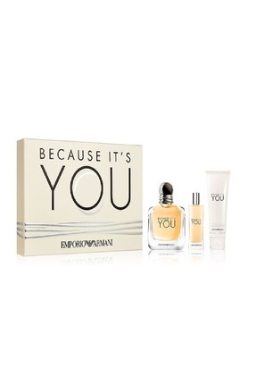Because Its You Edp 100 ml + Edp 15 ml + Vücut Losyonu 75 ml Kadın Parfüm Seti
