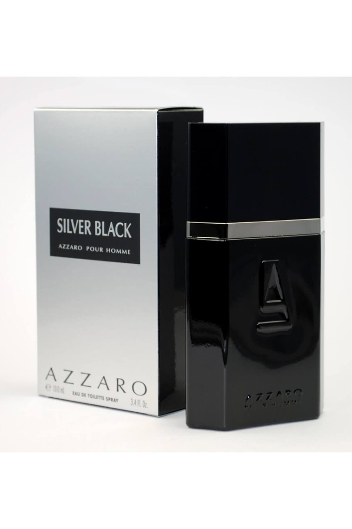 Loris Azzaro Silver Black Eau De Toilette Spray 100ml