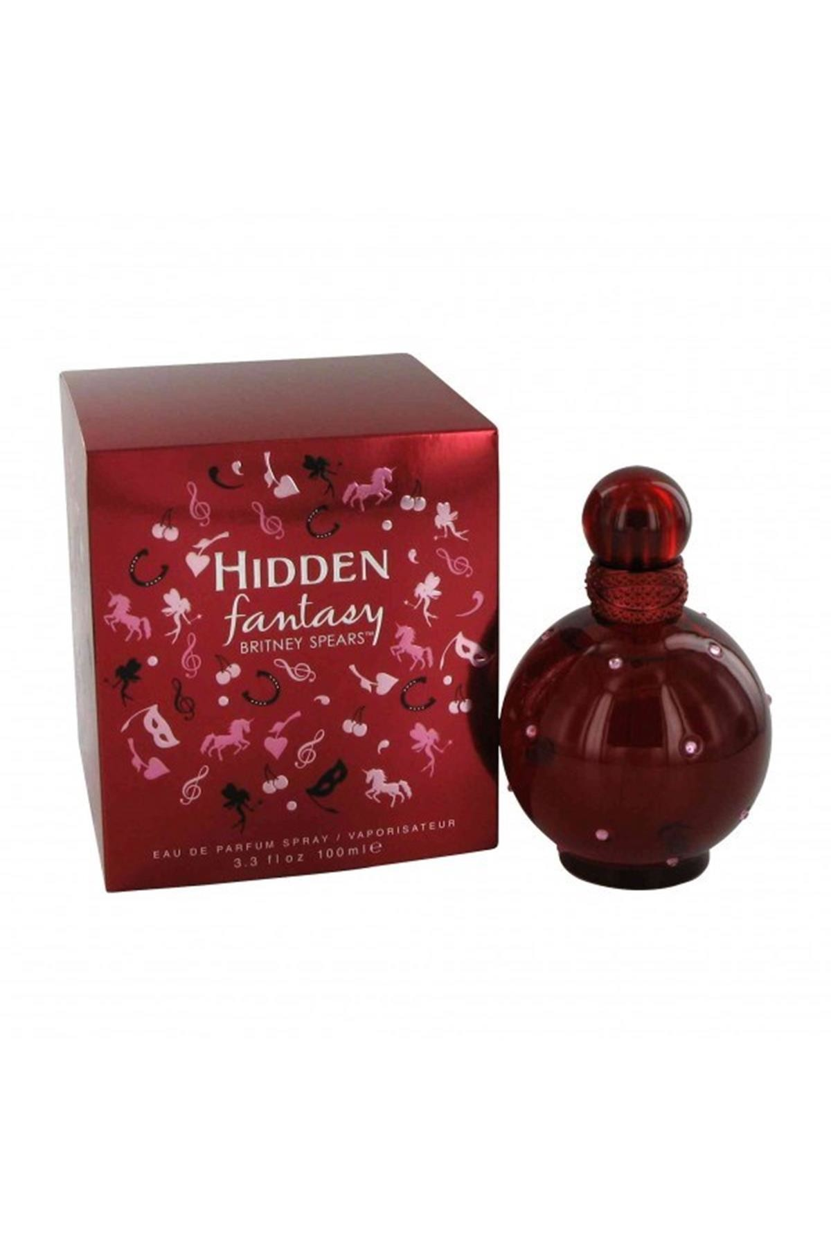Britney Spears Hidden Fantasy Eau De Parfum Spray 100ml