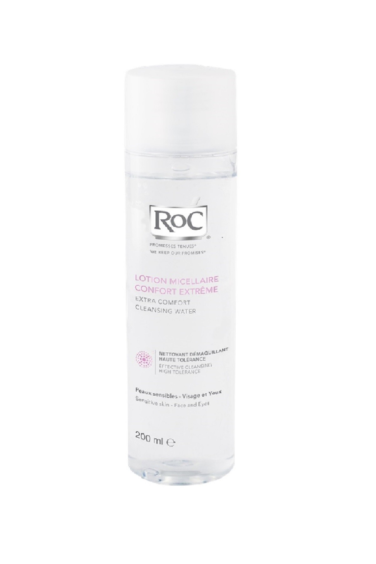 ROC Extra Comfort Cleansing Water (For Sensitive Skin) 200ml
