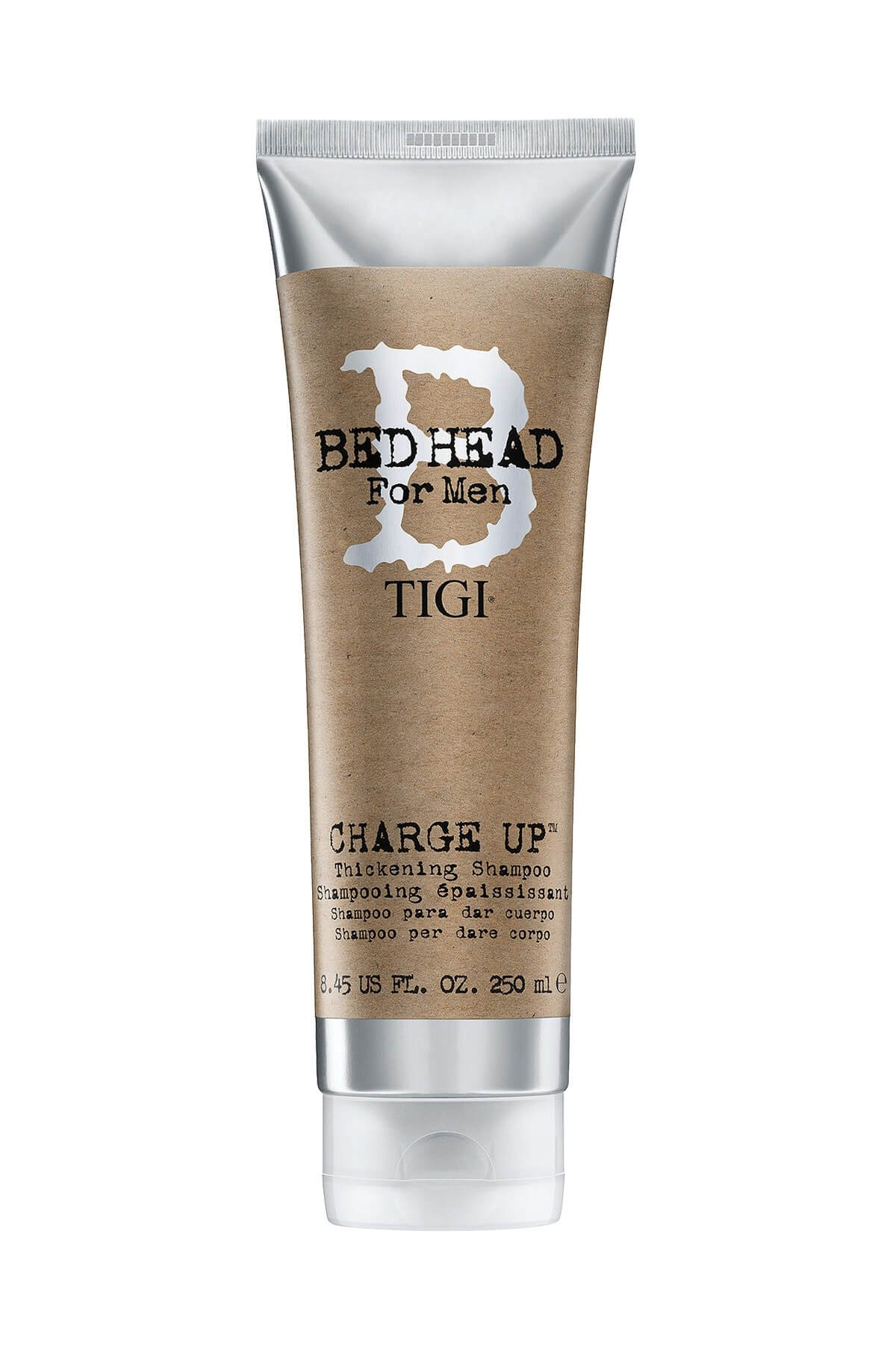 Tigi Bed Head B For Men Charge Up Thickening Shampoo 250ml
