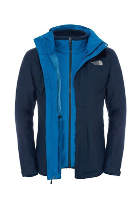 The North Face Evolution II Triclimate Erkek Mont Lacivert