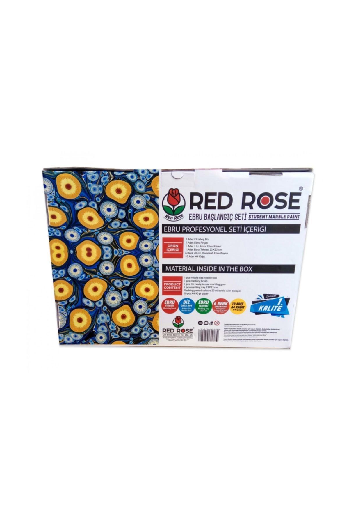 Red Rose Ebru Baslangic Seti Hazir Ebru Seti Eb1 Trendyol