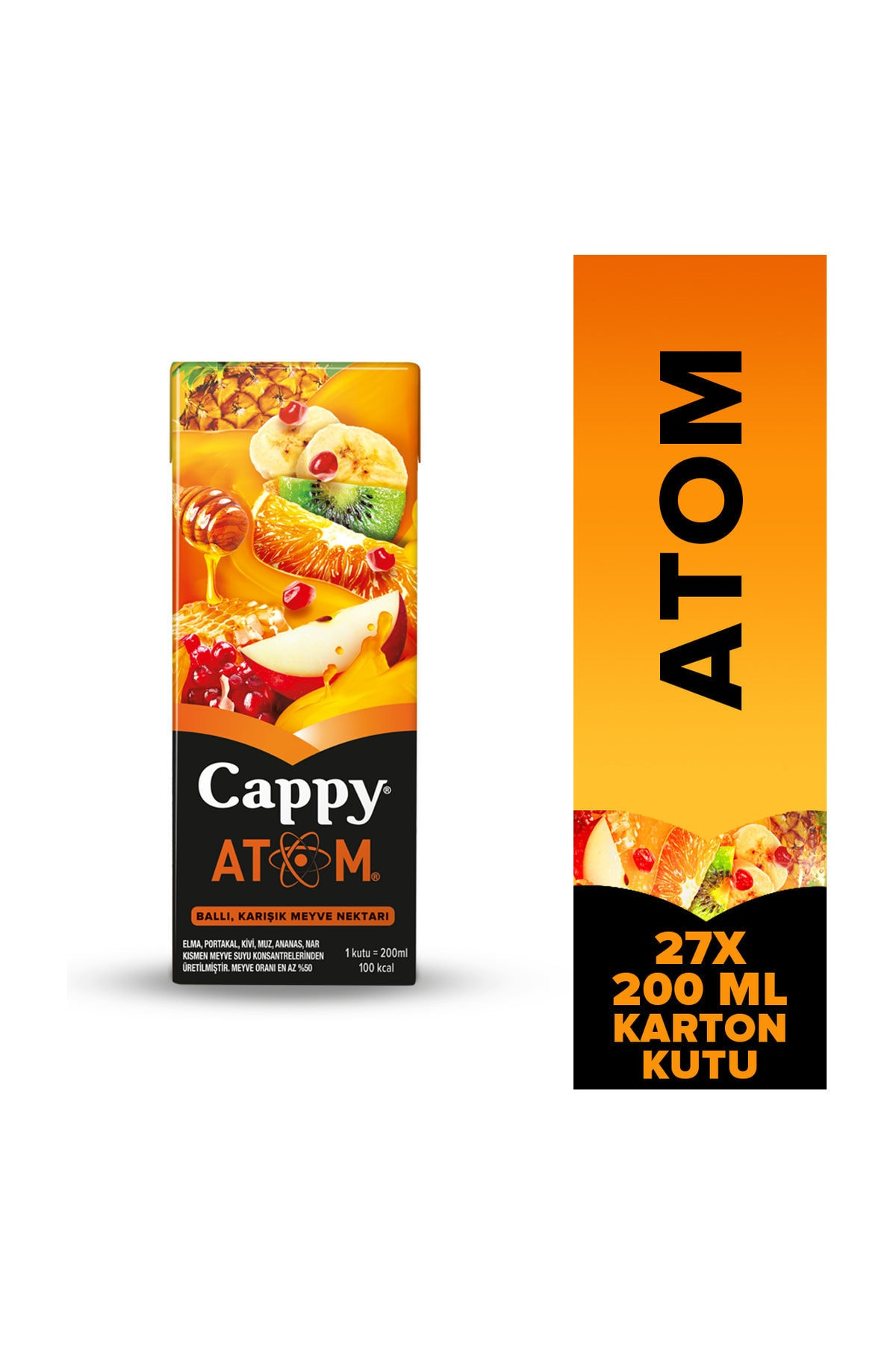 Cappy Cappy Atom 200 Ml 27 Li Paket Cpa27200 Trendyol
